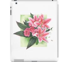 Roses and Lilies iPad Case/Skin