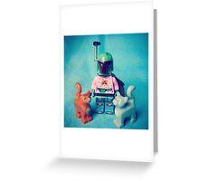 Cat Man-Do Greeting Card