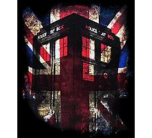 Doctor who - Union Jack Photographic Print