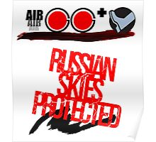 Russian Skies Protected Poster