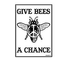 Give Bees A Chance by javajohnart