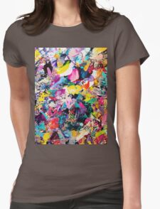 SPLATTER ONE Womens Fitted T-Shirt
