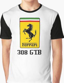 Ferrari 308 GTB Graphic T-Shirt