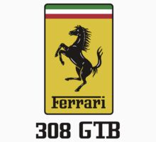 Ferrari 308 GTB One Piece - Short Sleeve
