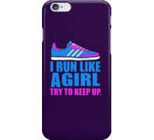 Run Like a Girl  iPhone Case/Skin