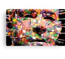 Jellybean Horror Show Canvas Print
