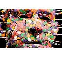 Jellybean Horror Show Photographic Print