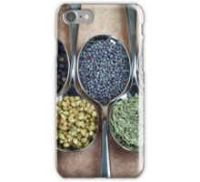 Indian curry Spices iPhone Case/Skin