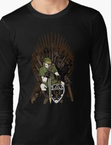 Link on the Iron Throne Long Sleeve T-Shirt