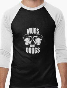 Mugs Not Drugs! St Patricks Day Irish T-Shirt Men's Baseball ¾ T-Shirt