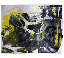 It's better to travel hopefully than to arrive - Original BIG Wall Modern Abstract Art Painting Poster