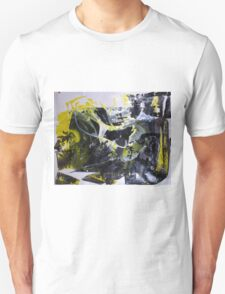 It's better to travel hopefully than to arrive - Original BIG Wall Modern Abstract Art Painting Unisex T-Shirt