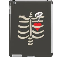 Imprisoned Heart Asking for Help iPad Case/Skin