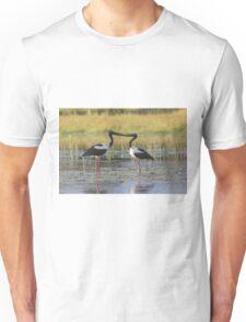 The Stork Kiss Unisex T-Shirt