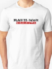 Rauh-Welt Begriff T-Shirt