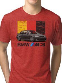 BMW M3 E46 Tri-blend T-Shirt