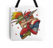 the crack ship  Tote Bag