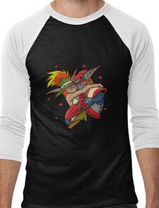 the crack ship  Men's Baseball ¾ T-Shirt