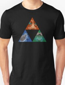 Pokemon Triforce - Charizard, Blastoise, Venusaur T-Shirt
