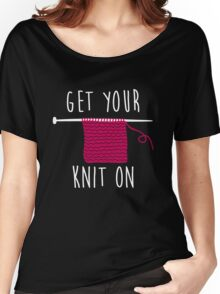 Get your knit on Women's Relaxed Fit T-Shirt