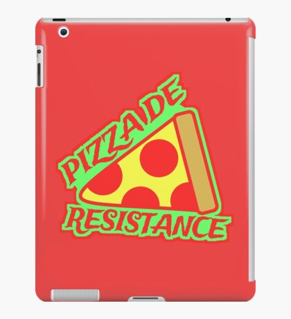 Pizza de Resistance  iPad Case/Skin