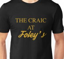 The Craic at Foley's – Mrs Brown's Boys inspired, Agnes Brown Unisex T-Shirt