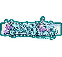 Graffiti SCREAM (V4) Photographic Print