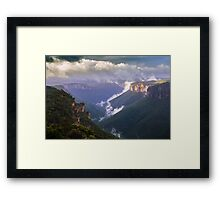Dragons Lair Framed Print