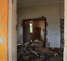 Inside an abandoned farmhouse by myraj