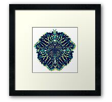 Abstract Palms Framed Print
