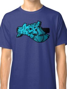 Graffiti SHOCK 3D (Blue) Classic T-Shirt