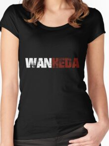 The 100 - Wanheda (Grunge) Women's Fitted Scoop T-Shirt