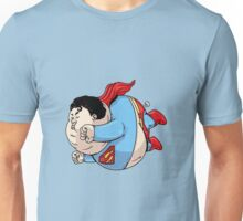 chubby superman Unisex T-Shirt