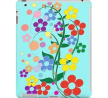 colorful spring flowers. iPad Case/Skin
