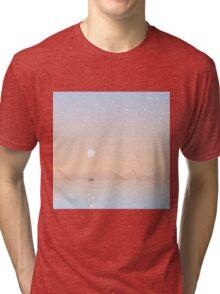 Fisherman fishing Tri-blend T-Shirt