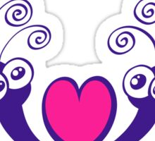 Mosquitoes in Love Sticker