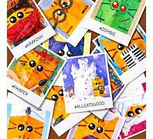 Cats memories Photographic Print