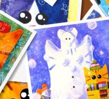 Cats memories Sticker