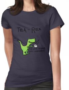 Tea Rex Womens Fitted T-Shirt