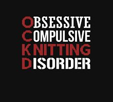 Obsessive, compulsive, knitting disorder Women's Fitted Scoop T-Shirt