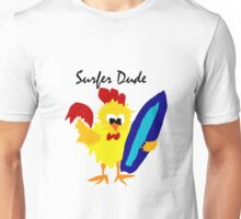 Cool Funny Surfer Dude Cartoon Unisex T-Shirt
