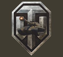 World of Tanks (WoT) with a Russian IS-3 Tank inside the logo by ReBBDesign