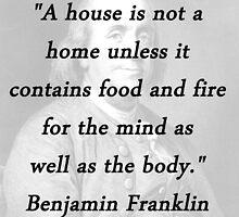 Franklin - Mind and Body by CrankyOldDude