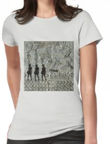 525,600 Minutes Metal Art - WIP Womens Fitted T-Shirt