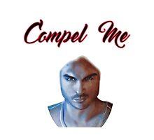 Vampire Diaries- compel me Photographic Print
