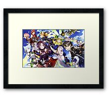 Finest Art: Sword Art Online Framed Print