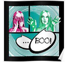 Boo comics Poster