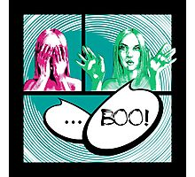 Boo comics Photographic Print