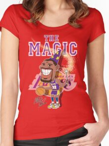 THE MAGIC Women's Fitted Scoop T-Shirt