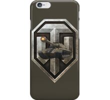 World of Tanks (WoT) with IS-3 Tank inside the logo iPhone Case/Skin